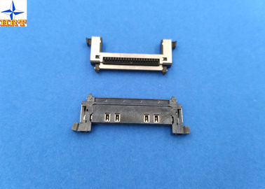 Single Row Wire To Board Connector, 0.5 Mm Pitch LVDS Connector With Stainessless Shell