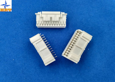 250V AC / DC 2.0mm Pitch PA66 Material Automotive Electrical PAD Connectors Double Row