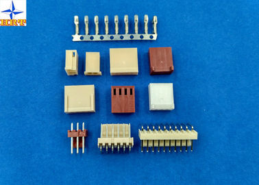 Pitch 2.54mm Single Row 02p To 20p Housing PA66 UL94V-0 Wire To Board Connectors